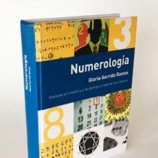 Libros de segunda mano: NUMEROLOGÍA, CONÓCETE A TI MISMO Y A LOS DEMÁS A TRAVÉS DE LOS NÚMEROS - GLORIA GARRIDO - CÚPULA. Lote 206184657