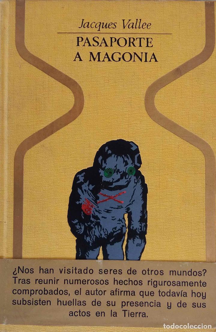 PASAPORTE A MAGONIA. JACQUES VALLEE. LIBRO PLAZA Y JANES. (Libros de Segunda Mano - Parapsicología y Esoterismo - Ufología)