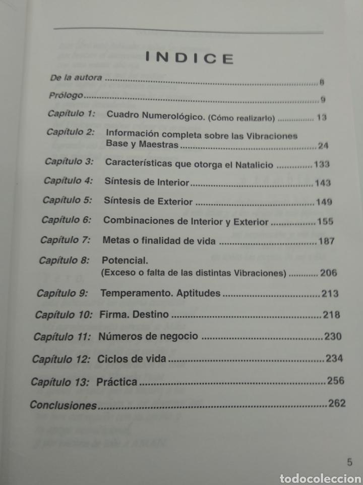 Libros de segunda mano: NUMEROLOGÍA MAGICA GLADYS LOBOS NESTINAR S.L. 2000 DESCATALOGADO RARO Y BUSCADO BUEN ESTADO - Foto 3 - 206320645