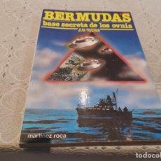 Libros de segunda mano: EL TRIANGULO DE LAS BERMUDAS BASE SECRETA DE LOS OVNIS JEAN PRACHAN MARTÍNEZ ROCA 1982. Lote 206393326