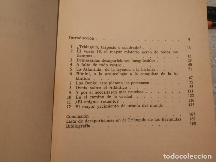 Libros de segunda mano: EL TRIANGULO DE LAS BERMUDAS BASE SECRETA DE LOS OVNIS JEAN PRACHAN MARTÍNEZ ROCA 1982 - Foto 3 - 206393326
