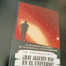 Libros de segunda mano: ¿HAY ALGUIEN MÁS EN EL UNIVERSO?. Lote 208170050