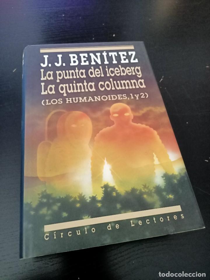 LA PUNTA DEL ICEBERG. LA QUINTA COLUMNA (Libros de Segunda Mano - Parapsicología y Esoterismo - Ufología)
