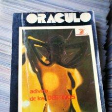 Libros de segunda mano: ORÁCULO, ADIVINO DE LOS DESTINOS- ANAYA EDITORES, (2000 EJEMPLARES) HECHO EN MÉXICO. RARO!.. Lote 208916385