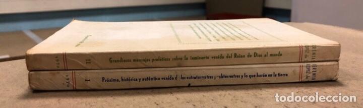 Libros de segunda mano: JEREMÍAS LÓPEZ DE S. LOTE DE 2 LIBROS (PRÓXIMA, HISTÓRICA Y AUTÉNTICA VENIDA DE LOS EXTRATERRESTRES - Foto 2 - 209169562