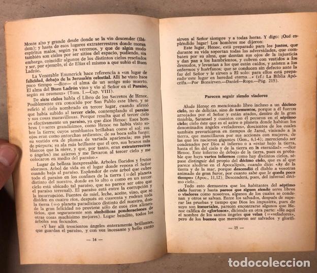 Libros de segunda mano: JEREMÍAS LÓPEZ DE S. LOTE DE 2 LIBROS (PRÓXIMA, HISTÓRICA Y AUTÉNTICA VENIDA DE LOS EXTRATERRESTRES - Foto 5 - 209169562