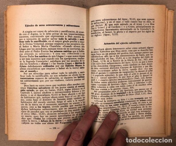 Libros de segunda mano: JEREMÍAS LÓPEZ DE S. LOTE DE 2 LIBROS (PRÓXIMA, HISTÓRICA Y AUTÉNTICA VENIDA DE LOS EXTRATERRESTRES - Foto 8 - 209169562