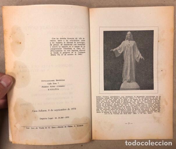 Libros de segunda mano: JEREMÍAS LÓPEZ DE S. LOTE DE 2 LIBROS (PRÓXIMA, HISTÓRICA Y AUTÉNTICA VENIDA DE LOS EXTRATERRESTRES - Foto 13 - 209169562