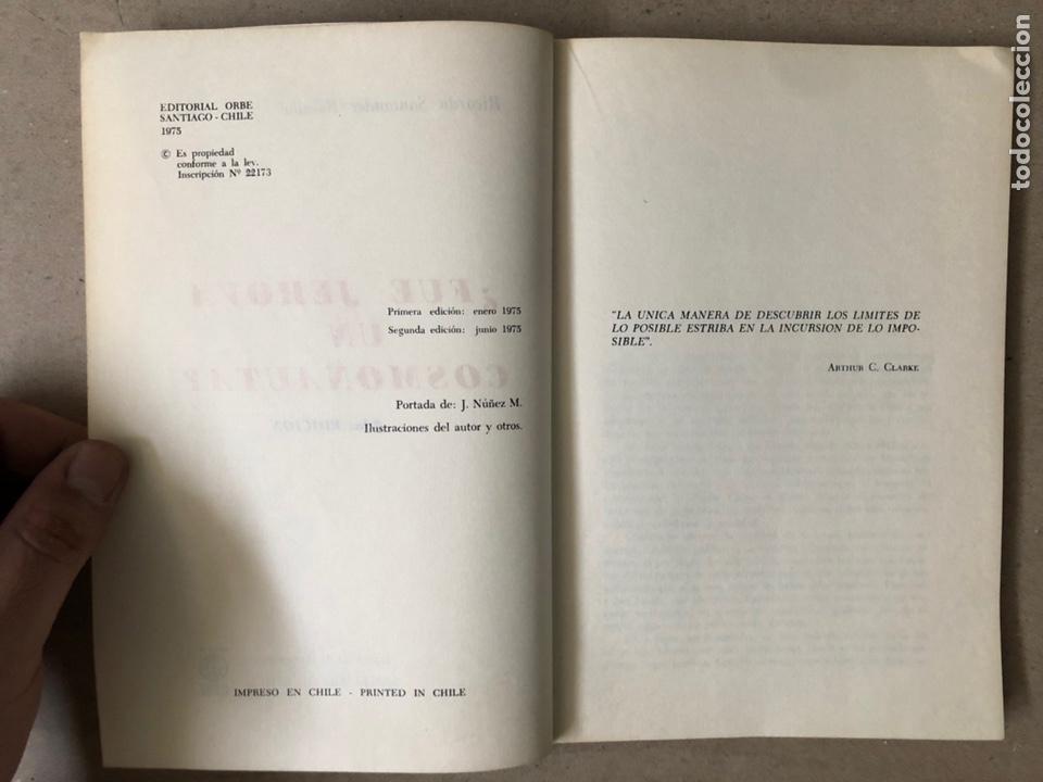 Libros de segunda mano: ¿FUE JEHOVÁ UN COSMONAUTA?. RICARDO SANTANDER BATALLA. EDITORIAL ORBE 1975. - Foto 3 - 240868605