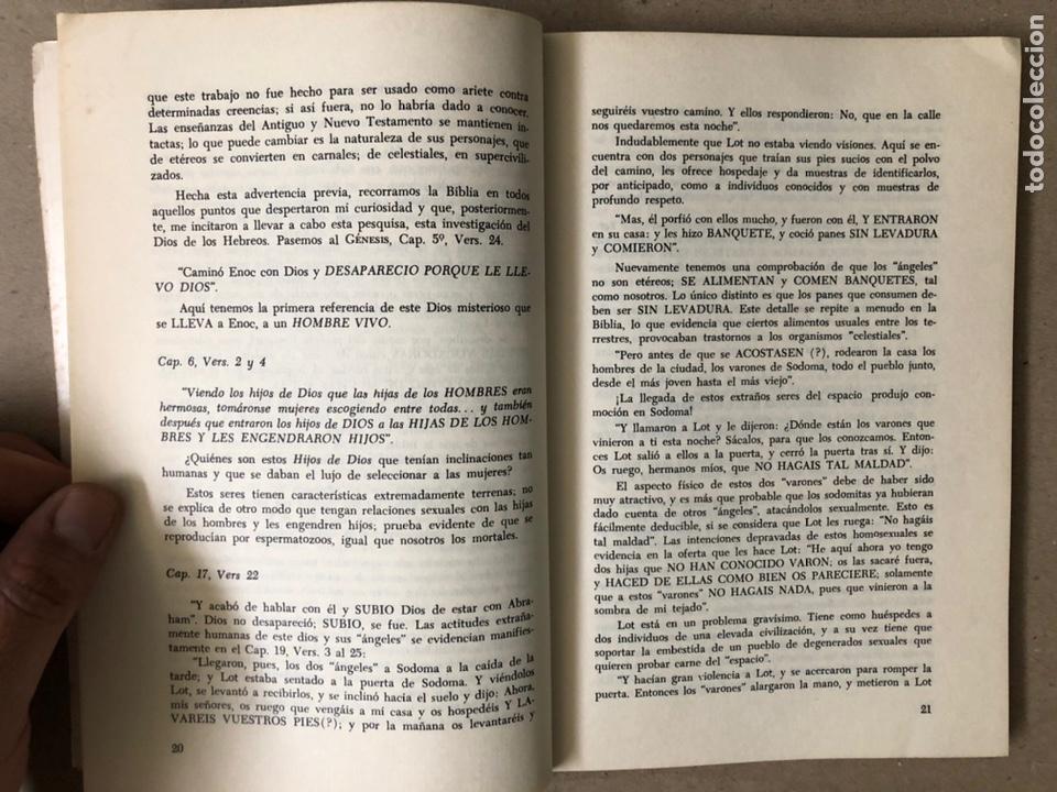 Libros de segunda mano: ¿FUE JEHOVÁ UN COSMONAUTA?. RICARDO SANTANDER BATALLA. EDITORIAL ORBE 1975. - Foto 4 - 240868605
