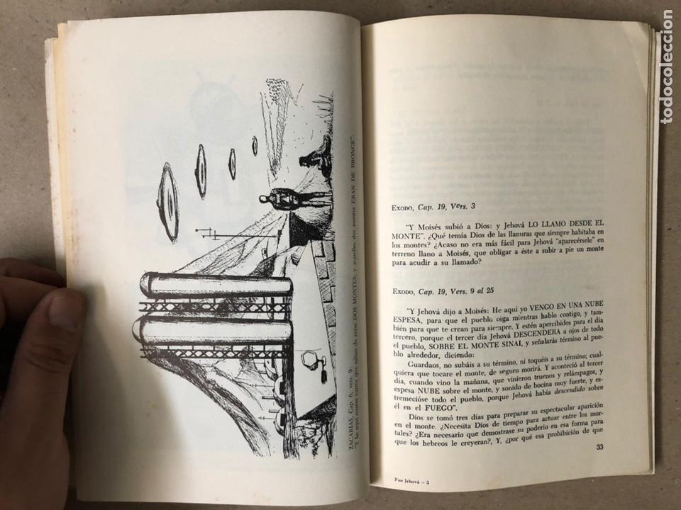 Libros de segunda mano: ¿FUE JEHOVÁ UN COSMONAUTA?. RICARDO SANTANDER BATALLA. EDITORIAL ORBE 1975. - Foto 5 - 240868605