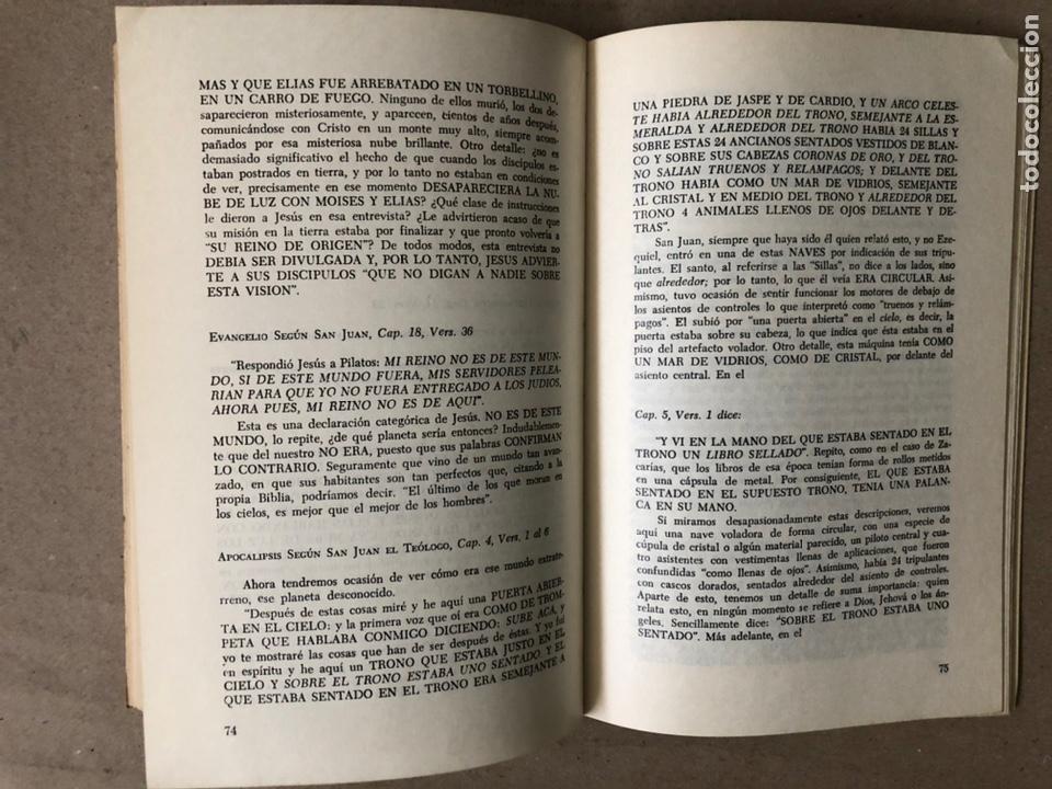 Libros de segunda mano: ¿FUE JEHOVÁ UN COSMONAUTA?. RICARDO SANTANDER BATALLA. EDITORIAL ORBE 1975. - Foto 7 - 240868605