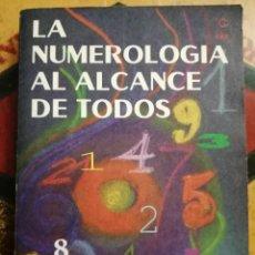 Libros de segunda mano: NUMEROLOGÍA AL ALCANCE DE TODOS, POR ROSA ALBERT Y NOEMÍ FARÍAS.. Lote 209785821