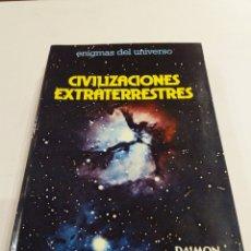 Libros de segunda mano: CIVILIZACIONES EXTRATERRESTRES BIRAUD RIBES UFOLOGIA OVNIS. Lote 210621732
