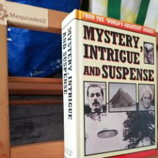 Libros de segunda mano: MYSTERY INTRIGUE AND SUSPENSE. Lote 210727694