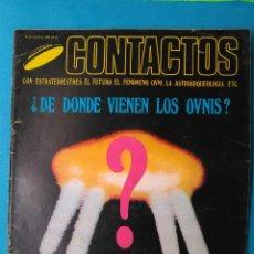 Libros de segunda mano: CONTACTOS EXTRATERRESTRES - ¿ DE DONDE VIENEN LOS OVNIS?. Lote 211593152