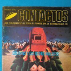 Libros de segunda mano: CONTACTOS EXTRATERRESTRES - LOS OVNIS Y LOS HECHOS MALDITOS. Lote 211593402
