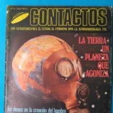 Libros de segunda mano: CONTACTOS EXTRATERRESTRES - LA TIERRA UN PLANETA QUE AGONIZA. Lote 211593589