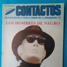 Libros de segunda mano: CONTACTOS EXTRATERRESTRES - LOS HOMBRES DE NEGRO. Lote 211594257