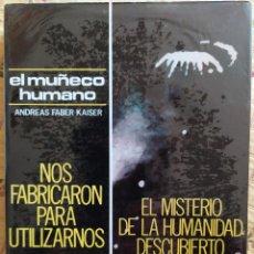 Livres d'occasion: EL MUÑECO HUMANO - ANDREAS FABER-KAISER. Lote 213547970