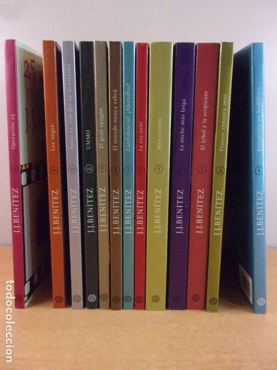 25 AÑOS DE INVESTIGACIÓN / J.J. BENITEZ / 1ª EDICIÓN 1999. PLANETA / 13 TOMOS (Libros de Segunda Mano - Parapsicología y Esoterismo - Ufología)