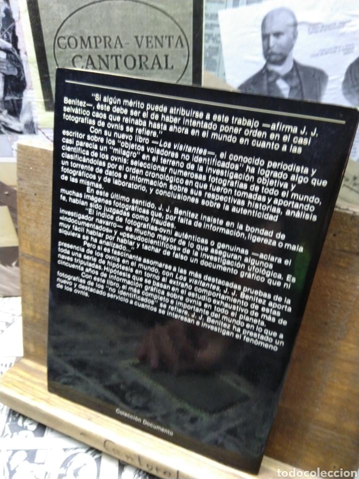 Libros de segunda mano: J.J. Benítez. Los visitantes - Foto 2 - 217547717
