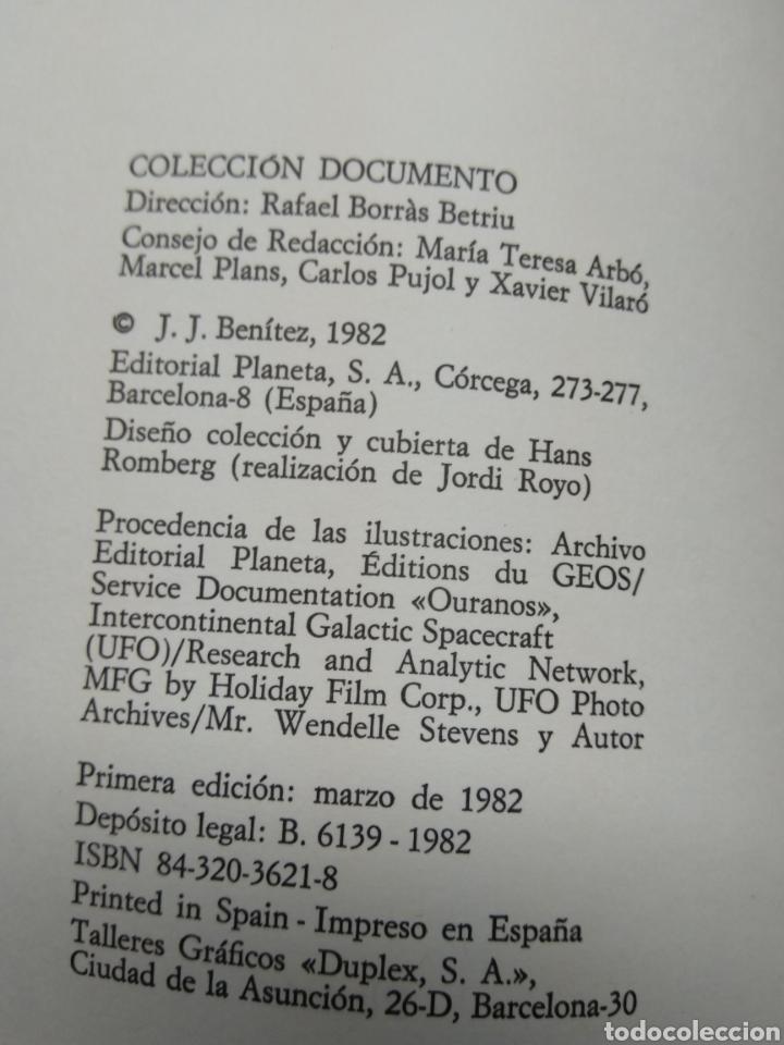 Libros de segunda mano: J.J. Benítez. Los visitantes - Foto 3 - 217547717