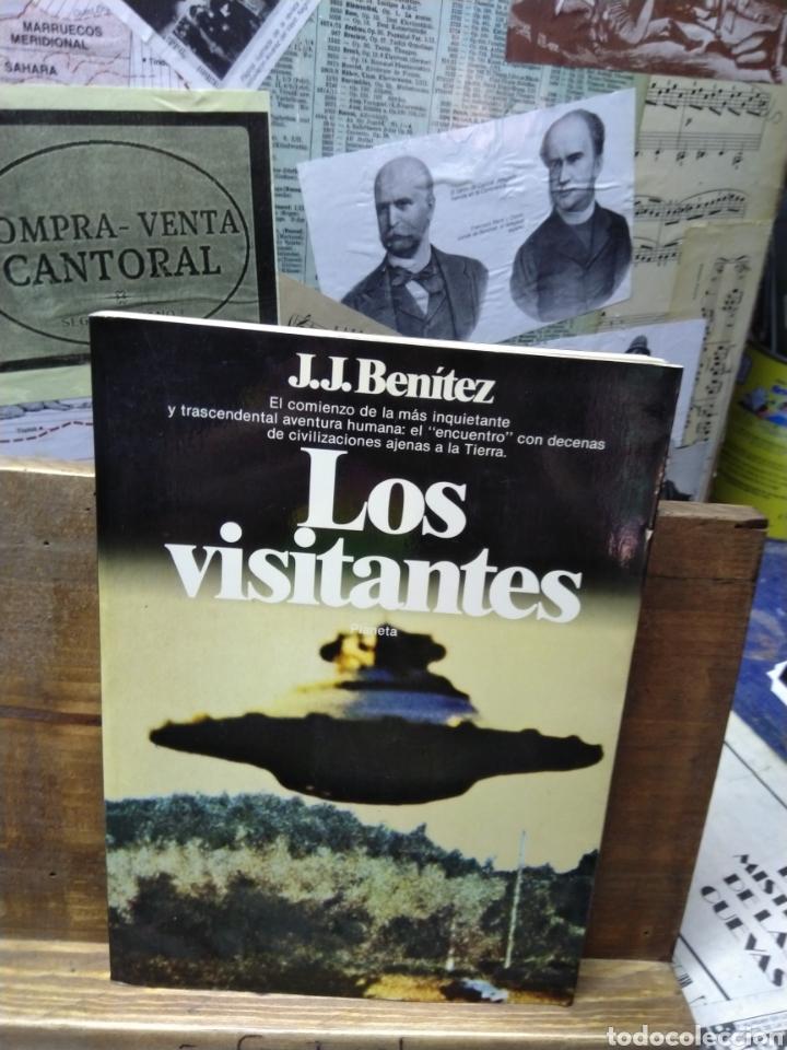 J.J. BENÍTEZ. LOS VISITANTES (Libros de Segunda Mano - Parapsicología y Esoterismo - Ufología)