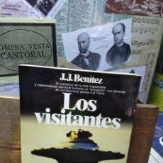 Libros de segunda mano: J.J. BENÍTEZ. LOS VISITANTES. Lote 217547717
