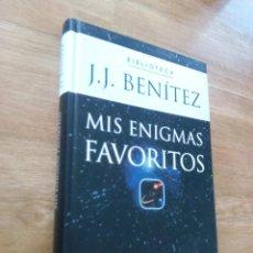Libros de segunda mano: MIS ENIGMAS FAVORITOS / JJ BENÍTEZ. Lote 217789970