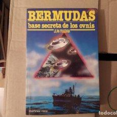 Libros de segunda mano: BERMUDAS BASE SECRETA DE LOS OVNIS JEAN PRACHAN ENVIO CERTIFICADO INCLUIDO. Lote 218062068