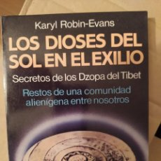 Libros de segunda mano: LOS DIOSES DEL SOL EN EL EXILIO ENVIO CERTIFICADO INCLUIDO. Lote 218063470
