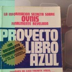 Libri di seconda mano: PROYECTO LIBRO AZUL BRAD STEINER ENVIO CERTIFICADO INCLUIDO. Lote 218143523