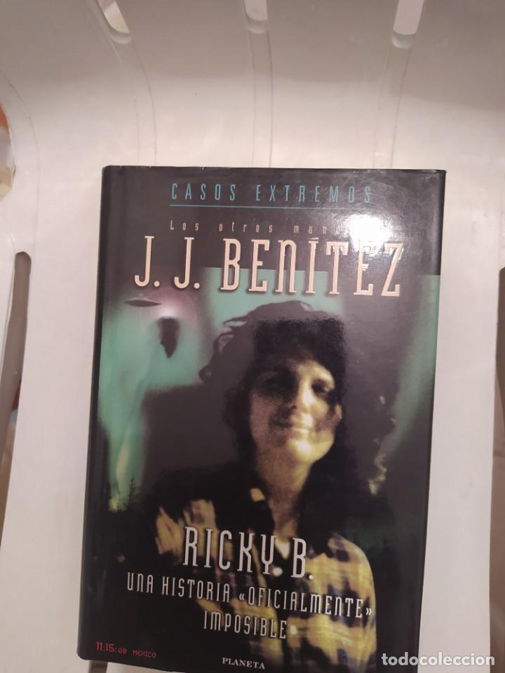 RICKY B. J J BENITEZ ENVIO CERTIFICADO INCLUIDO (Libros de Segunda Mano - Parapsicología y Esoterismo - Ufología)