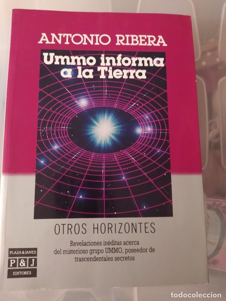 UMMO INFORMA A LA TIERRA ENVIO CERTIFICADO INCLUIDO (Libros de Segunda Mano - Parapsicología y Esoterismo - Ufología)