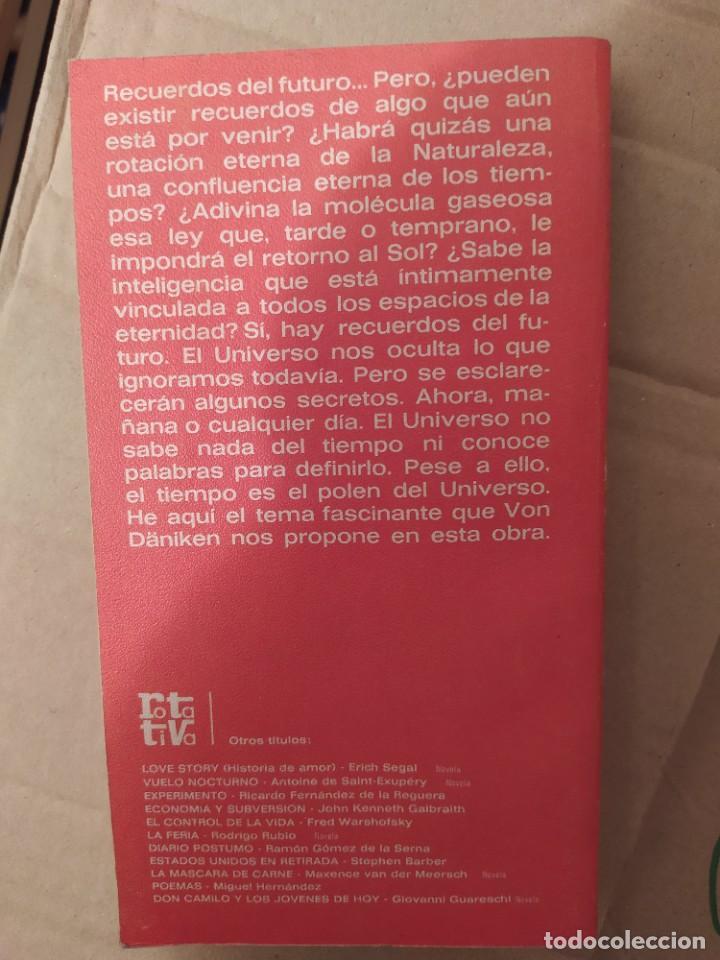 Libros de segunda mano: RECUERDOS DEL FUTURO VON DANIKEN ENVIO CERTIFICADO INCLUIDO - Foto 2 - 218149975
