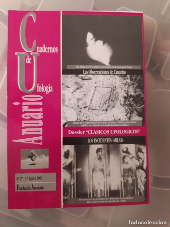 CUADERNOS DE UFOLOGIA ANUARIO DESCATALOGADO IMPOSIBLE DE CONSEGUIR ENVIO CERTIFICADO INCLUIDO 01 (Libros de Segunda Mano - Parapsicología y Esoterismo - Ufología)