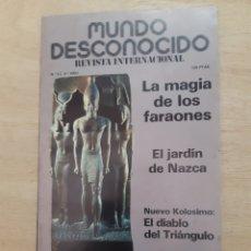 Libros de segunda mano: MUNDO DESCONOCIDO. REVISTA. N 43. ENERO 1980. Lote 218392720