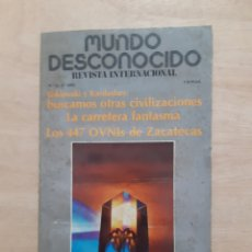 Libros de segunda mano: MUNCO DESCONOCIDO. REVISTA. N 42. DICIEMBRE 1979. Lote 218392928