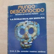 Libros de segunda mano: MUNDO DESCONOCIDO. REVISTA. N 17. NOVIEMBRE 1977. Lote 218393068