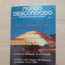 Libros de segunda mano: MUNDO DESCONOCIDO. REVISTA. N 18. DICIEMBRE 1977. Lote 218393255