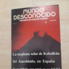 Libros de segunda mano: MUNDO DESCONOCIDO. REVISTA. N 21 MARZO 1978. Lote 218393463