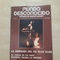 Libros de segunda mano: MUNDO DESCONOCIDO. REVISTA. N 23. MAYO 1978. Lote 218393601