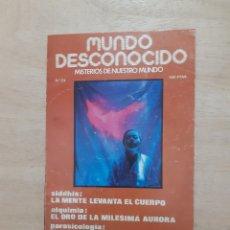 Libros de segunda mano: MUNDO DESCONOCIDO. REVISTA. N 24. JUNIO 1978. Lote 218393851
