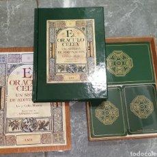 Livres d'occasion: EL ORÁCULO CELTA UN SISTEMA DE ADIVINACIÓN. LIZ Y COLIN MURRAY. Lote 218424420