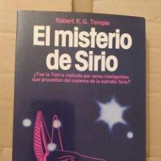 Libros de segunda mano: EL MISTERIO DE SIRIO DESCATALOGADO ENVIO CERTIFICADO INCLUIDO. Lote 218440111