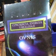 Livros em segunda mão: OVNIS CONCIENCIA,ENERGÍA Y REALIDAD,RAMTHA-EDITA ARCANO BOOKS,JUDI POPE KOTEEN,NUEVO SIN LEER,. Lote 285382933