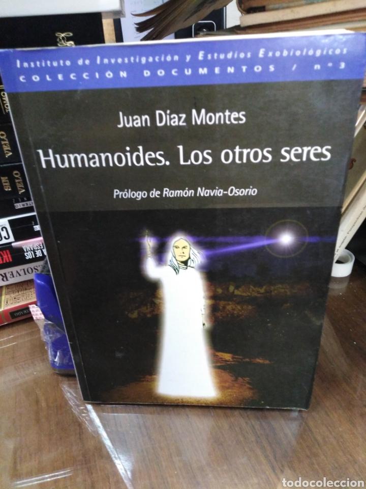 HUMANOIDES LOS OTROS SERES-JUAN DÍEZ MONTES,COLECCIÓN DOCUMENTOS,N°3,ESTUDIOS EXOBIOLOGICOS,2003,UFO (Libros de Segunda Mano - Parapsicología y Esoterismo - Ufología)