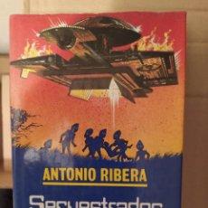 Libri di seconda mano: SECUESTRADOS POR EXTRATERRESTRES ANTONIO RIBERA ENVIO CERTIFICADO INCLUIDO. Lote 218518672