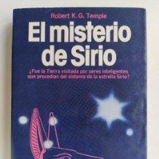 Libros de segunda mano: EL MISTERIO DE SIRIO - ROBERT K.G. TEMPLE - MARTINEZ ROCA. Lote 220373757